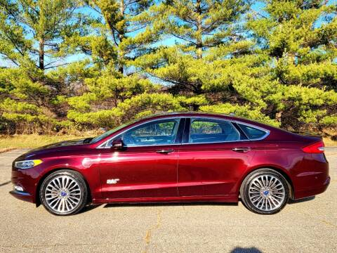 2017 Ford Fusion Energi for sale at Finish Line Auto Sales Inc. in Lapeer MI