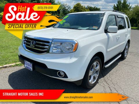 2013 Honda Pilot for sale at STRAIGHT MOTOR SALES INC in Paterson NJ