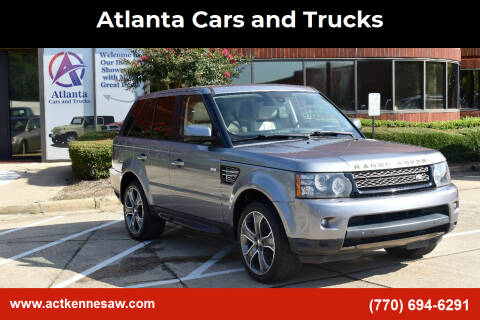 2013 Land Rover Range Rover Sport for sale at Atlanta Cars and Trucks in Kennesaw GA