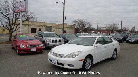 2002 Lexus ES 300 for sale at RVA MOTORS in Richmond VA