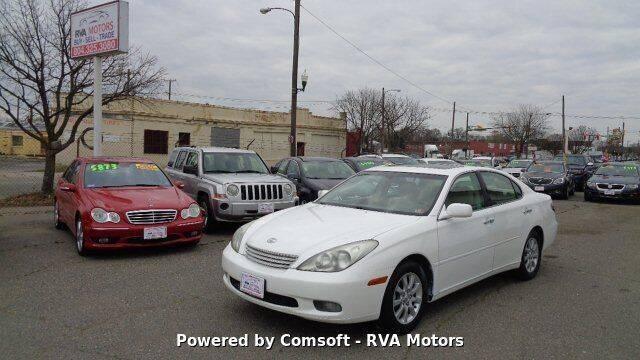 2002 Lexus ES 300 for sale at RVA MOTORS in Richmond VA