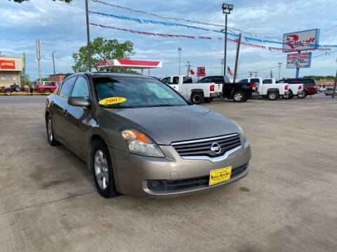 2007 Nissan Altima for sale at Russell Smith Auto in Fort Worth TX