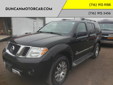 2011 Nissan Pathfinder for sale at DuncanMotorcar.com in Buffalo NY