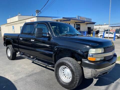 2002 Chevrolet Silverado 2500HD for sale at Ricos Auto Sales in Escondido CA