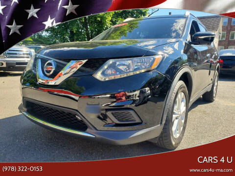 2015 Nissan Rogue for sale at Cars 4 U in Haverhill MA
