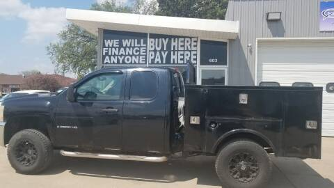 2009 Chevrolet Silverado 2500HD for sale at STERLING MOTORS in Watertown SD