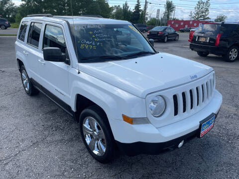 2012 Jeep Patriot for sale at Peter Kay Auto Sales in Alden NY