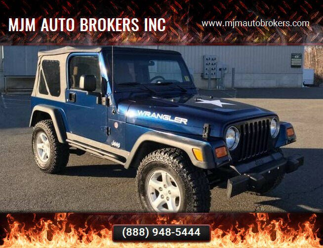 2003 Jeep Wrangler for sale at MJM Auto Brokers INC in Gloucester MA