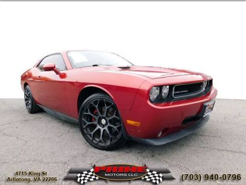 2010 Dodge Challenger for sale at PRIME MOTORS LLC in Arlington VA
