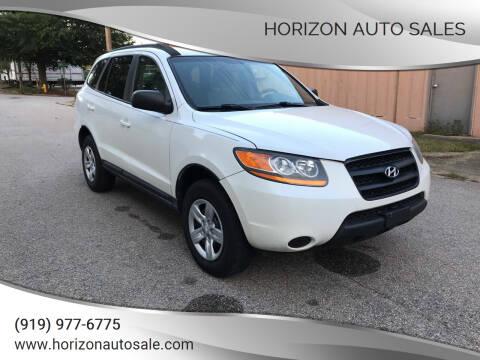 2009 Hyundai Santa Fe for sale at Horizon Auto Sales in Raleigh NC