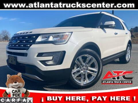 2016 Ford Explorer for sale at ATLANTA TRUCK CENTER LLC in Brookhaven GA