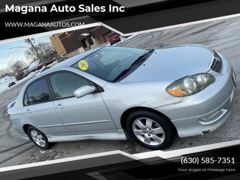 2007 Toyota Corolla for sale at Magana Auto Sales Inc in Aurora IL