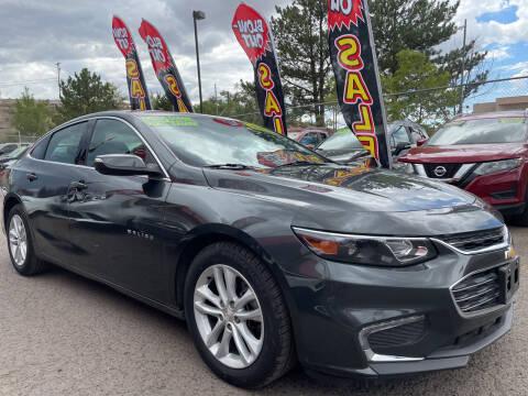 2018 Chevrolet Malibu for sale at Duke City Auto LLC in Gallup NM