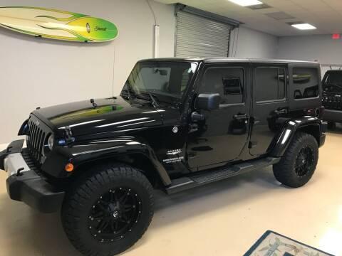 2012 Jeep Wrangler Unlimited for sale at Jeep and Truck USA in Tampa FL