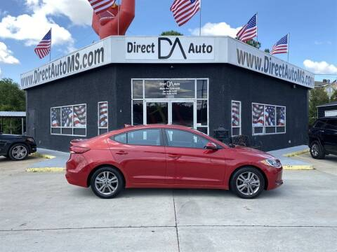 2018 Hyundai Elantra for sale at Direct Auto in D'Iberville MS