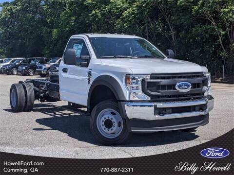 2021 Ford F-450 Super Duty for sale at BILLY HOWELL FORD LINCOLN in Cumming GA