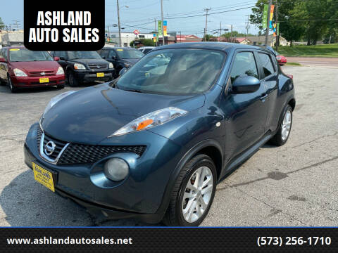 2014 Nissan JUKE for sale at ASHLAND AUTO SALES in Columbia MO