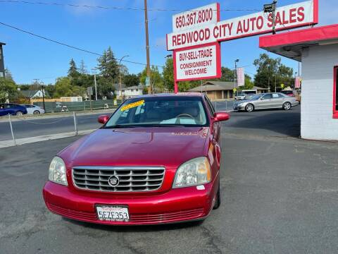 2004 Cadillac DeVille for sale at Redwood City Auto Sales in Redwood City CA