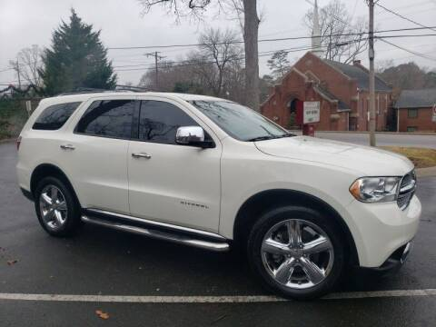 2012 Dodge Durango for sale at McAdenville Motors in Gastonia NC