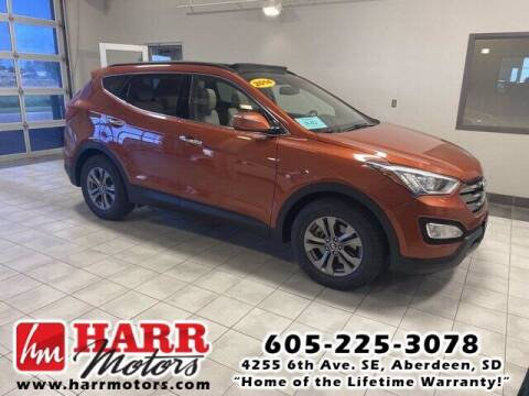 2014 Hyundai Santa Fe Sport for sale at Harr's Redfield Ford in Redfield SD