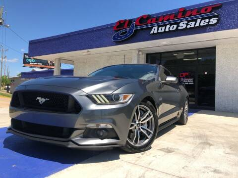 2015 Ford Mustang for sale at El Camino Auto Sales Gainesville in Gainesville GA