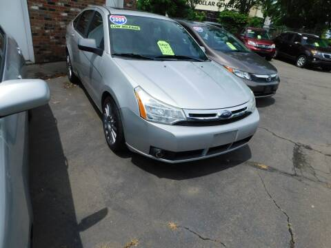 2009 Ford Focus for sale at CAR CORNER RETAIL SALES in Manchester CT
