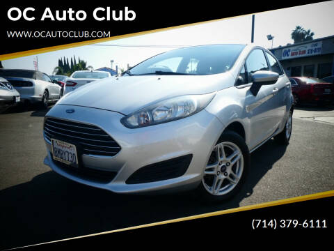 2017 Ford Fiesta for sale at OC Auto Club in Midway City CA