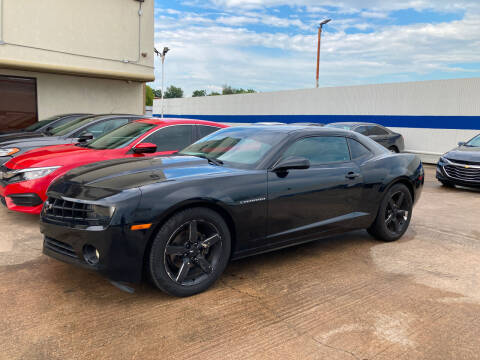 2010 Chevrolet Camaro for sale at ANF AUTO FINANCE in Houston TX