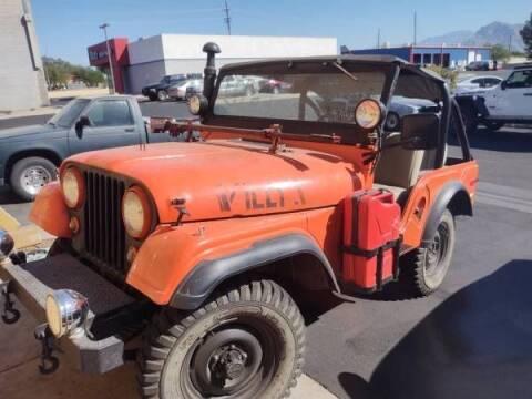 1955 Jeep CJ-5 for sale at Classic Car Deals in Cadillac MI