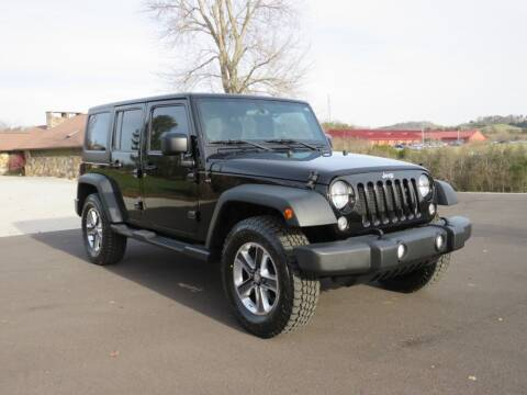 2015 Jeep Wrangler Unlimited for sale at Sevierville Autobrokers LLC in Sevierville TN