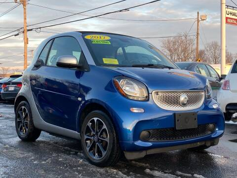 2017 Smart fortwo electric drive for sale at MetroWest Auto Sales in Worcester MA