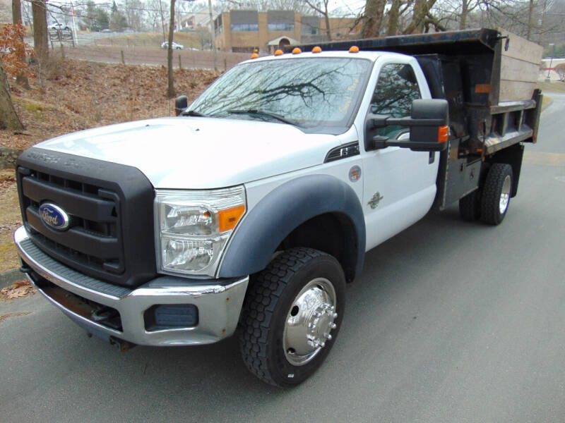 2012 Ford F-550 Super Duty for sale at Lakewood Auto in Waterbury CT