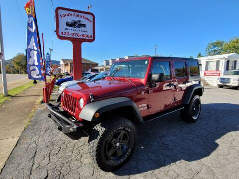 2012 Jeep Wrangler Unlimited for sale at Ford's Auto Sales in Kingsport TN
