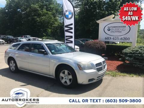 2005 Dodge Magnum for sale at Auto Brokers Unlimited in Derry NH