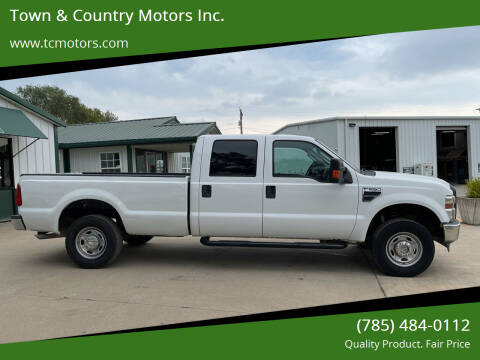 2010 Ford F-250 Super Duty for sale at Town & Country Motors Inc. in Meriden KS
