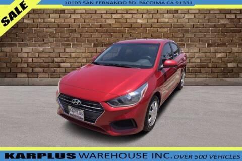 2018 Hyundai Accent for sale at Karplus Warehouse in Pacoima CA
