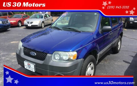 2006 Ford Escape for sale at US 30 Motors in Merrillville IN