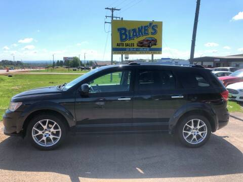 2011 Dodge Journey for sale at Blake's Auto Sales in Rice Lake WI