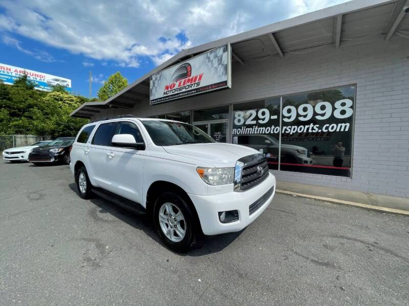 2013 Toyota Sequoia for sale at NO LIMIT MOTORSPORTS in Belmont NC