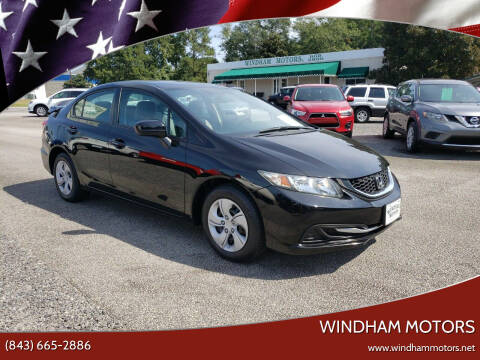 2015 Honda Civic for sale at Windham Motors in Florence SC
