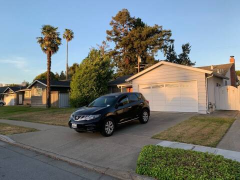 2012 Nissan Murano for sale at Blue Eagle Motors in Fremont CA
