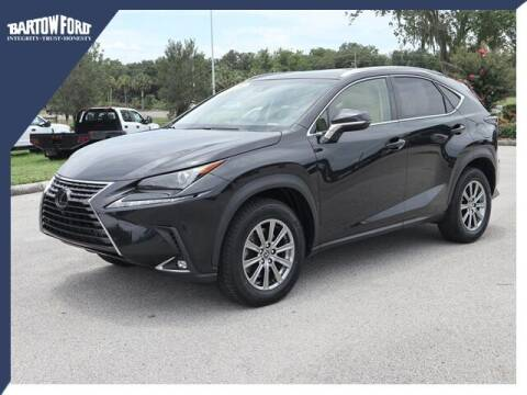 2018 Lexus NX 300 for sale at BARTOW FORD CO. in Bartow FL