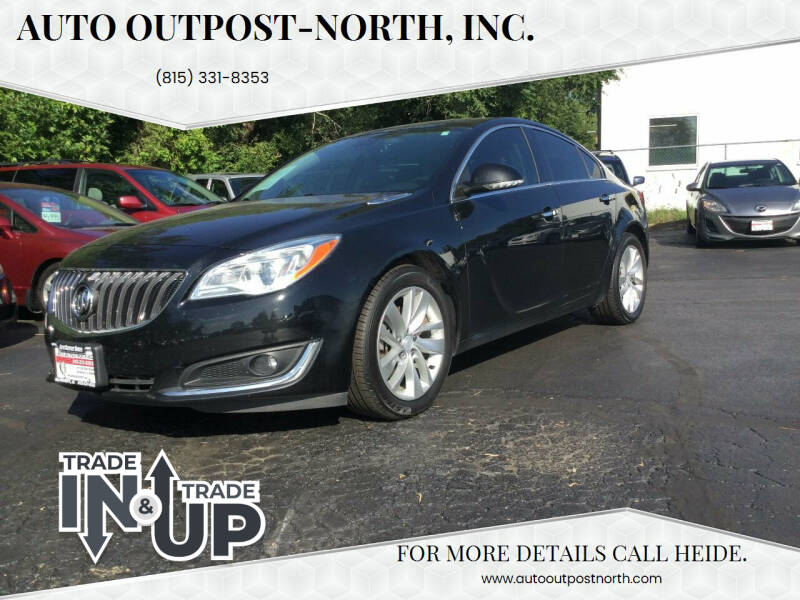 2014 Buick Regal for sale at Auto Outpost-North, Inc. in McHenry IL