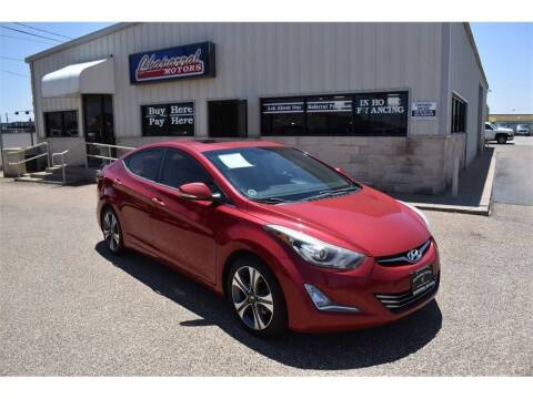 2015 Hyundai Elantra for sale at Chaparral Motors in Lubbock TX