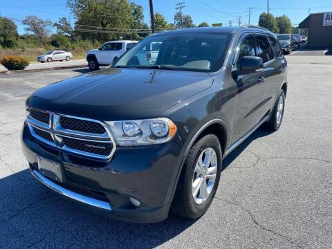 2011 Dodge Durango for sale at Brewster Used Cars in Anderson SC