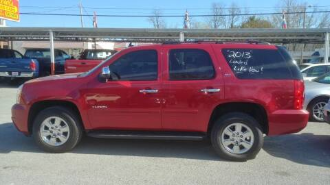 2013 GMC Yukon for sale at Lewis Used Cars in Elizabethton TN