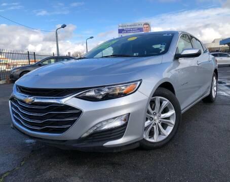 2019 Chevrolet Malibu for sale at LUGO AUTO GROUP in Sacramento CA