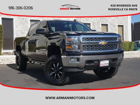 2015 Chevrolet Silverado 1500 for sale at Armani Motors in Roseville CA