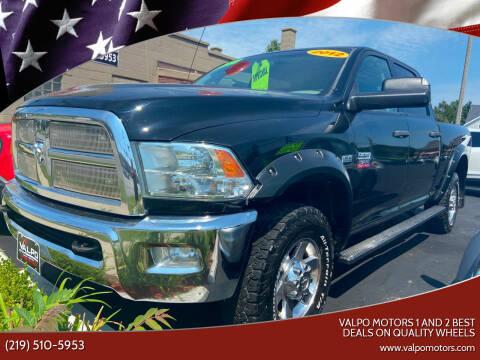 2012 RAM Ram Pickup 2500 for sale at Valpo Motors Inc. in Valparaiso IN