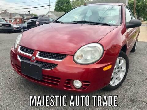2005 Dodge Neon for sale at Majestic Auto Trade in Easton PA